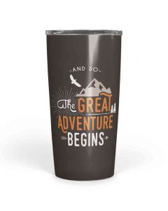 The Great Adventure Begins Sip Tumbler