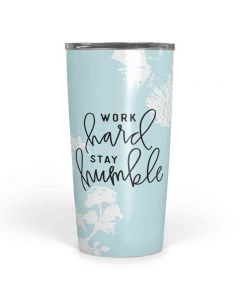 Work Hard Stay Humble Travel Tumbler