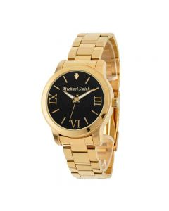Men's Personalized Diamond Accent Gold Tone Watch