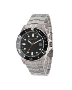 Men's Personalized Silver Tone Watch
